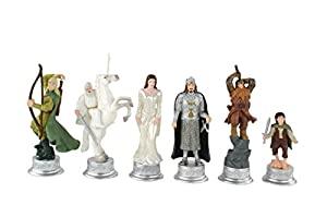 Lord of the Rings 3D Chess Characters