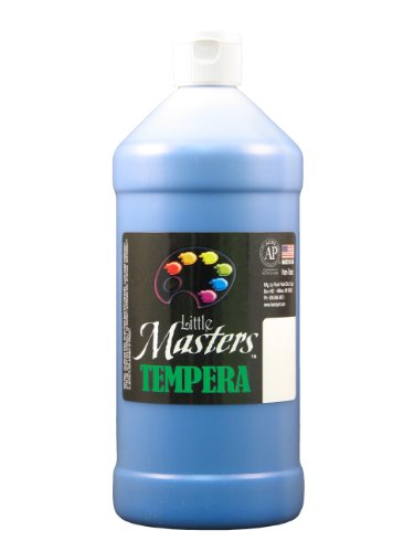 Little Masters by Rock Paint 203-730 Tempera Paint, 1, Blue, 32-Ounce