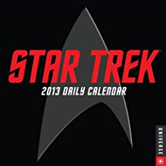 Star Trek 2013 Daily Calendar by Cbs