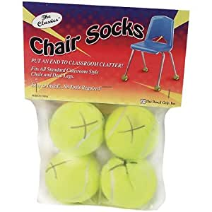 Amazon com 20 pack the pencil grip chair socks 4 ct polybag grip
