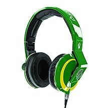 Skullcandy Mix Master Headphones with DJ Capabilities and 3 Button Mic, NBA Boston Celtics
