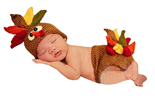 Crocheted Baby Thanksgiving Costume