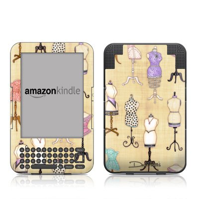 Dress Forms Design Protective Decal Skin Sticker for Amazon Kindle 3 (Latest Generation, 6 inch) E-Book Reader - High Gloss Coating