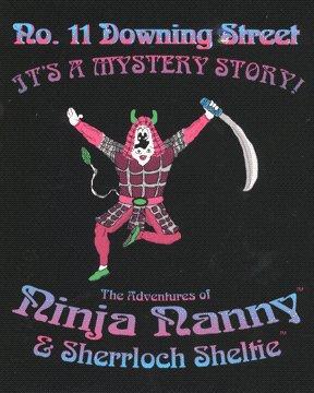 No. 11 Downing Street: The Adventures of Ninja Nanny & Sherrloch Sheltie (PC) (Computer Game)