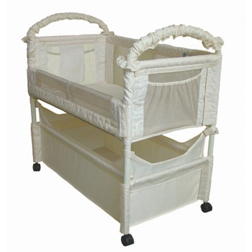 Great Features Of Arms Reach Concepts Inc. Co-Sleeper Mini Clear-Vue - Natural