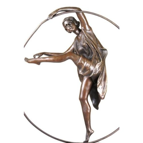 Amazon.com : signed Art Deco Godard Bronze Dancer Sculpture