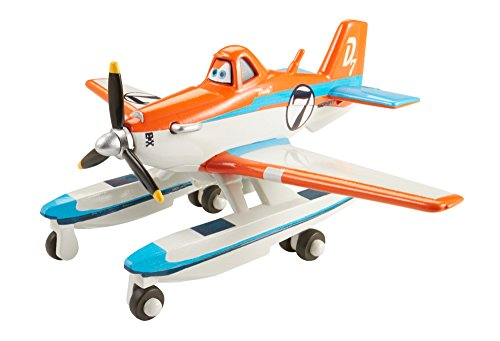 Disney Planes Racer Dusty with Pontoons Diecast Aircraft