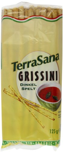 Terrasana Grissini Organic Breadsticks 125 g(Pack of 6)