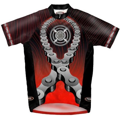 Buy Low Price Primal Wear Men's Chained Up Original Short Sleeve Cycling Jersey – CHA1J20M (B000WQ9RG0)