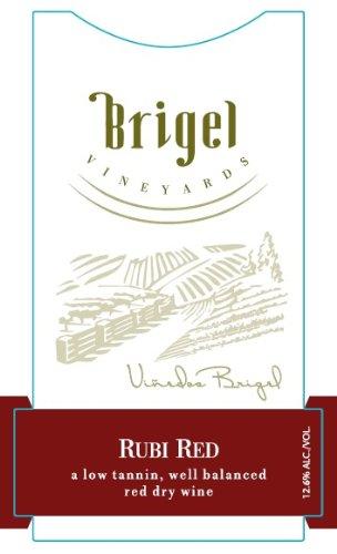 Nv Brigel Vineyards Rubi Red New York Red Wine 750 Ml