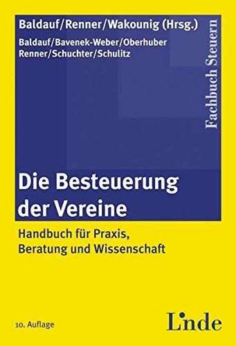 Die Besteuerung der Vereine (f. Österreich)