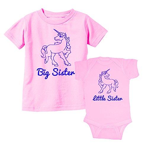 We-Match-Big-Sister-Little-Sister-Magical-Unicorn-Organic-Cotton-T-Shirts-Bodysuits-Bibs