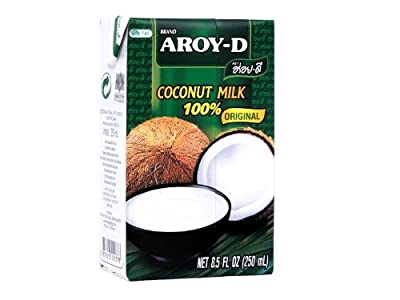 100% Coconut Milk - 8.5 Oz (6-pack) by Aroy-D from Aroy-D