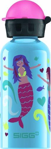 Sigg Mermaid Water Bottle, Blue, 0.4-Liter front-197397