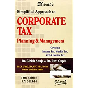 corporate tax planning book pdf