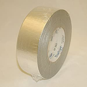 Shurtape SF-682 HVAC Grade Duct Tape (Metalized): 2 in. x 60 yds. (Metalized Silver)