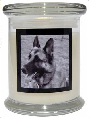 Aroma Paws 312 Breed Candle 12 Oz. Jar - German Shepard