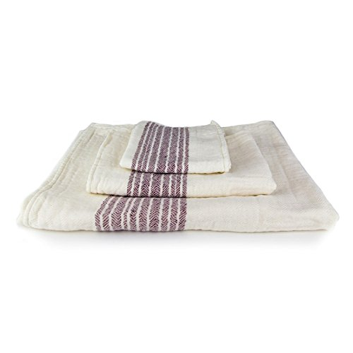 Guest Towels Ebay: Kontex Organic Cotton Towels From Imabari, Japan, Maroon