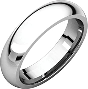 6mm Comfort Fit Band in 14k Rose Gold - Size 10.5