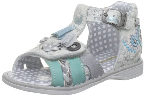 Catimini A15-Chouette Acier/Ciel Casual Sandal 13EA151221 4.5 UK Toddler, 21 EU
