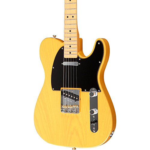 Fender Fsr Standard Ash Telecaster Electric Guitar Maple Fretboard Butterscotch Blonde