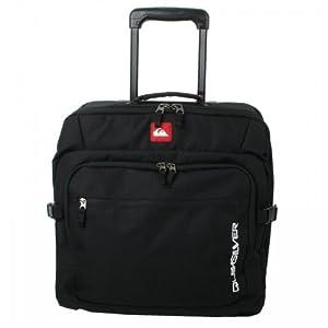 Quiksilver Cabin Fever 42L Wheelie Bag- with laptop compartment (Black)