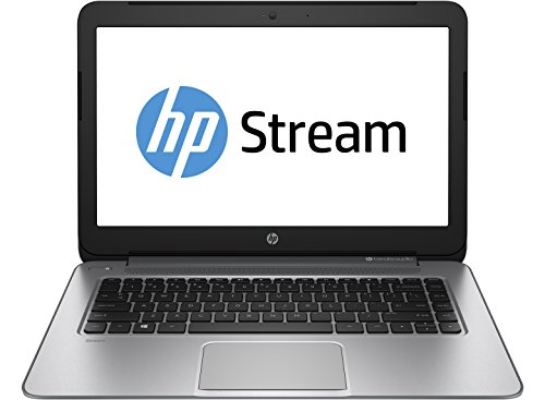 HP Stream 14 Laptop with Beats Audio (Natural Silver) (Discontinued by Manufacturer) (Steam 14 Laptop compare prices)