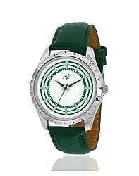 Yepme Jiyan Mens Watch - White/Green -- YPMWATCH2095