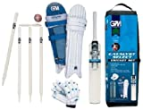 GM Catalyst Cricket Set with Pads and Gloves, Size 4