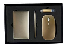 Luxury Business Gift Set - Themesis - Gold Electronic Accessories - Best useful gift idea