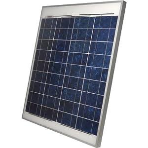 NPower Crystalline Solar Panel - 70 Watts, 12 Volt, 29.1in.L x 26.6in.W x 1.37in.D