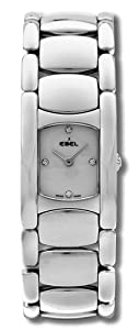 Ebel Beluga Manchette Stainless Steel Womens Watch Silver Dial 9057A21/0650