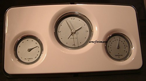 Wecker Wetterstation Hygrometer Temperatur Uhr