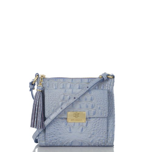 Mimosa Crossbody<br>Melbourne Chambray