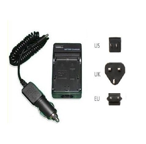 Camera Battery Charger for Sony Cyber-shots - Compatible with NP-BG1, NP-FG1, NPBG1 NPFG1 for DSC-W30, DSC-W35, DSC-W40, DSC-W50, DSC-W55, DSC-W55/B, DSC-W55/L, DSC-W55/P, DSC-W55DBL, DSC-W70, DSC-W80, DSC-W80/B, DSC-W80/P, DSC-W80/W, DSC-W80HDPR, DSC-W90