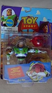 "1995 Thinkway Toys Disney Toy Story 5"" Action Figure - Infrared Buzz Lightyear"