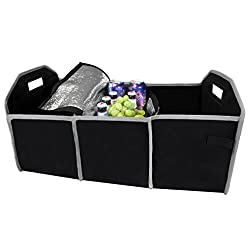 See Evelots Collapsible Trunk Organizer & Removable Cooler,Car/Truck/Vehicle Storage Details