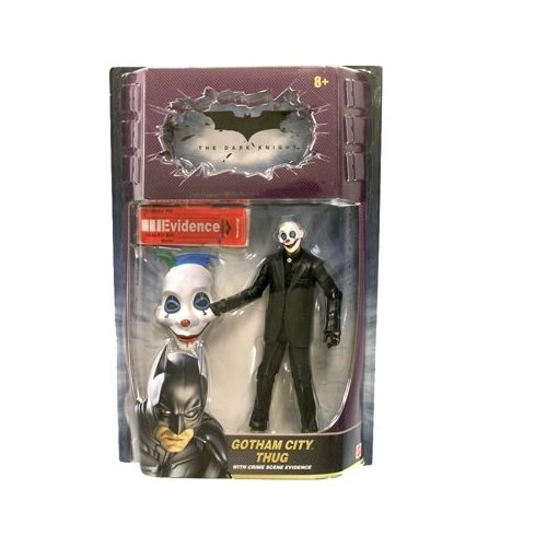 The Dark Knight Movie Masters Series 1 Gotham City Thug (Version 5) Action Figure