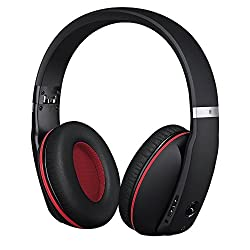 Mpow Muze Wireless Bluetooth 4.0 Headphones Headphone Headset with Active Noise Reduction Cancelling, Built in Mic Hands-free Calling, 3.5mm Audio input