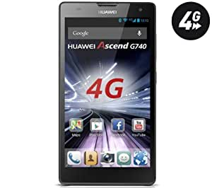 HUAWEI Ascend G740 - gris - Smartphone + Carte microSD 16 Go High Speed Class 10 + mini lecteur USB 2.0