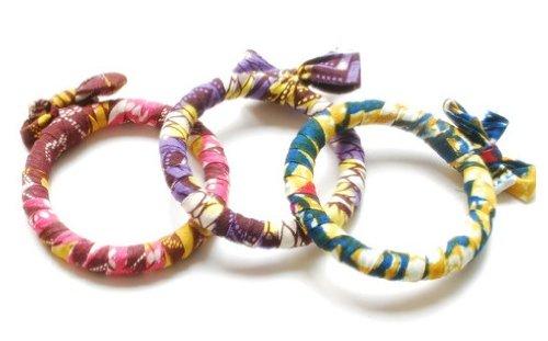 Nicole Miller Textile Bracelet (NM26) - Rwanda