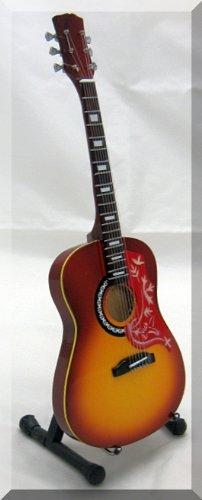 gordon-lightfoot-gibson-in-miniatura-motivo-chitarra-acustica-con-colibri