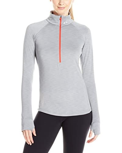Under Armour Camiseta Técnica Ua Coldgear 1/2 Zip Gris