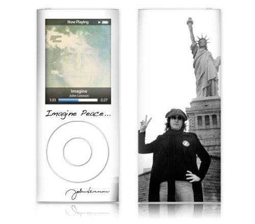 Zing Revolution Ms-Jl20005 Ipod Nano- 4Th Gen- John Lennon- Liberty Skin front-352136
