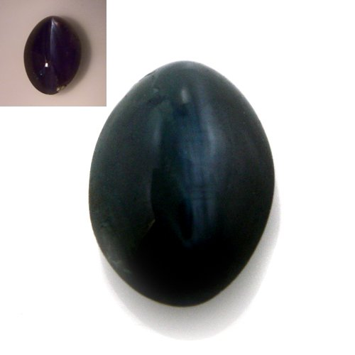 Natural Green Alexandrite Cats Eye Gemstone Oval Cabochon Cut 0.70cts 6*4mm
