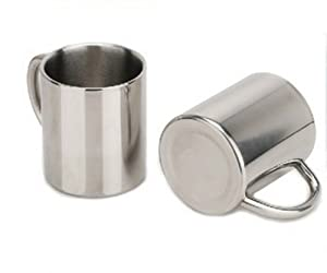 Amazon.com - Stainless Steel small bathroom tumbler water cup