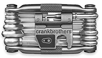 Crank Brothers Multi 19 Tool with Flask - Dark Grey Cycle Gear ...