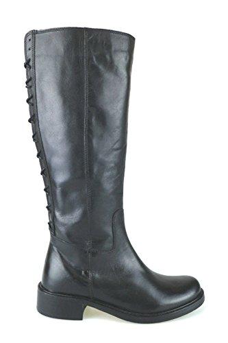 scarpe donna KEYS stivali nero pelle AJ124 (39 EU)