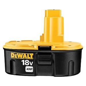 DEWALT DC9096 XRP 18-Volt 2.4 Amp Hour NiCd Pod Style Battery