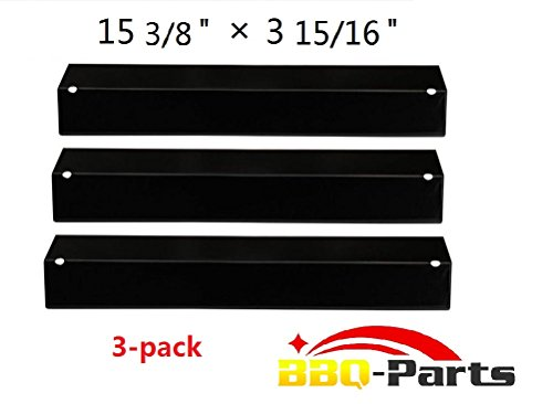 Discover Bargain bbq-parts PPB311 (3-pack) BBQ Gas Grill Heat Plate, Heat Shield, Heat Tent, Burner ...